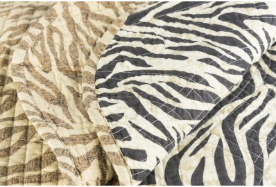 Quilt 100% Algodón Animal Print King