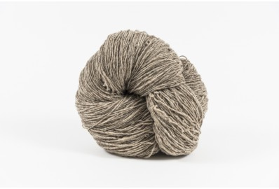 Madeja Lana Natural Gris 100 , Intermedia, 1 hebra