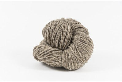 Madeja Lana Natural Gris, 100 , Intermedia, 2 hebras